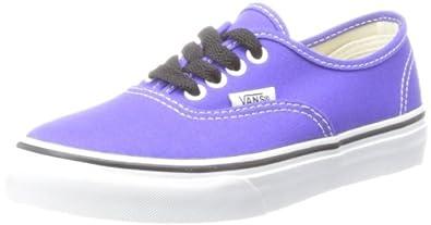 6e0806318a892 Vans Classic Authentic Skate Shoes Spectrum Purple/True White