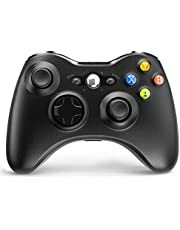 Wireless Controller for Xbox 360, 2.4GHZ Joystick Wireless Game Controller for Microsoft Xbox 360 Slim Console and PC Windows 7,8,10