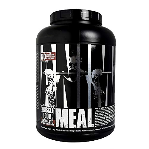 - Animal Meal - All Natural High Calorie Meal Shake - Egg Whites, Beef Protein, Pea Protein, Rolled Oats, Sweet Potato, Chocolate 5 Pound