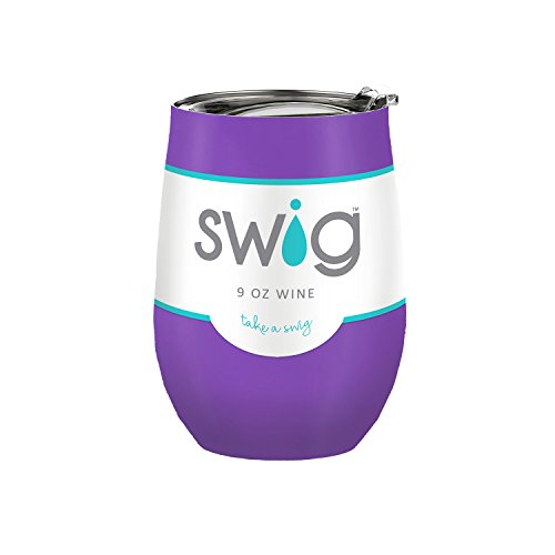 Purple Swig 9oz Wine Cup (Purple Wine)