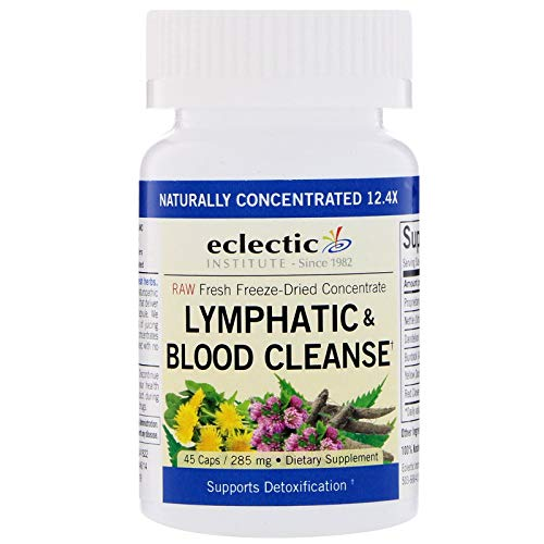 Eclectic Institute Lymphatic Blood Cleanse 285 mg 45 Veggie Caps ()