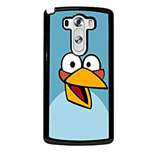 Unique Design(TM) LG G3 Case Cover Skull Disney Cartoon Anime Comics Character Angry Birds Hard Tpu Slim Fit Rubber Hybrid Black Protective Snap on Accessories for Girls