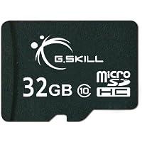 G.Skill 32GB microSDHC UHS-I/U1 Class 10 Memory Card w/Adapter Deals
