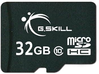 G.Skill FF-TSDG32GA-C10 32GB MicroSDHC Card