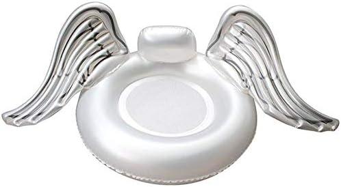 Selm フローティングインフレータブルラウンジインフレータブルpvcウィングプールフロートシート用大人子供女の子男の子フロート玩具 - 手動ポンプを送る
