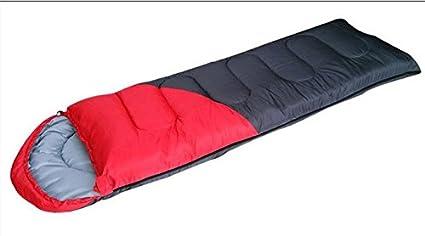 SUHAGN Saco de dormir Camping Caliente Grueso Saco De Dormir Pequeñas Manzanas Adulto Sacos De Dormir