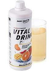Best Body Nutrition Vital Drink Zerop® - Brazilië Sun, originele geconcentreerde dranksiroop zonder suiker, 1:80 geeft 80 liter kant-en-klare drank, 1000 ml