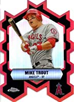 2013 Topps Chrome Close Connections Refractor #CC-MT Mike Trout Baseball Card