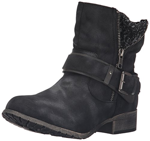 Engineer Leo Women's Jellypop Distress Black Boot aREWgwq