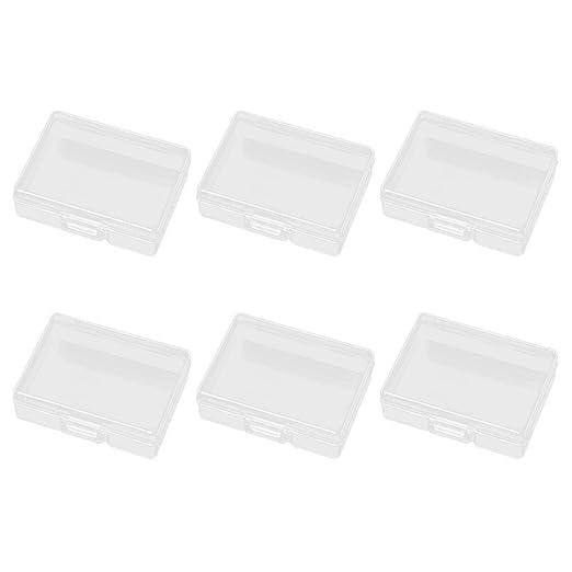 SUPVOX 6 Unids Rectangular Mini Caja de Almacenamiento ...