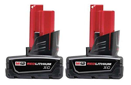 Battery Pack, 12V, Li-Ion, 3.0A/hr., PK2 (3 Hr Battery Pack)