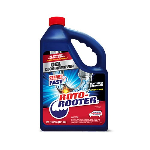 ITW Brands CR Brands INC 01135 128OZ Roto Rooter Gel, 4 g