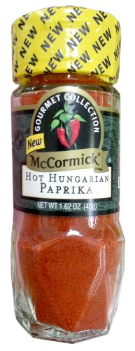 McCormick Gourmet Collection HOT HUNGARIAN PAPRIKA 1.62oz (3 Pack) by McCormick