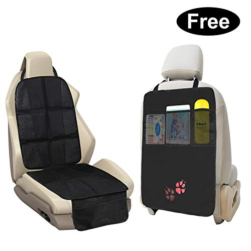 Car Seat Protector For Child Seats 2 IN 1 Waterproof Universal Protection for Leather Cars Seats includ a Gift(Universa Back Seat Car Organiser for , Protects Baby Car Seats Multi-pocket Organizer ):