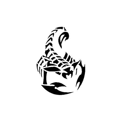 Personalized car stickers 12,7 cm 17,7 cm autocollant de voiture autocollant scorpion f/éroce csfssd Color : Black