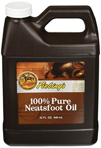 Neatsfoot Oil Leather Conditioner Size: 32 oz. (Saddle Fiebings Soap)