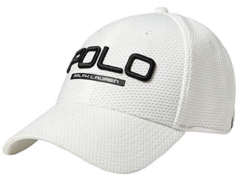 Polo Ralph Lauren Men's Performance Mesh Baseball Cap - White