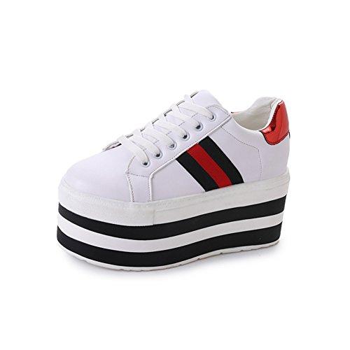Koreanisch Fashion Original Bed And Breakfast,Erhöhen Sie Die Casual Schuhe In Den Dicken Boden,Studenten Fallen Schuhe,Plateauschuhe A
