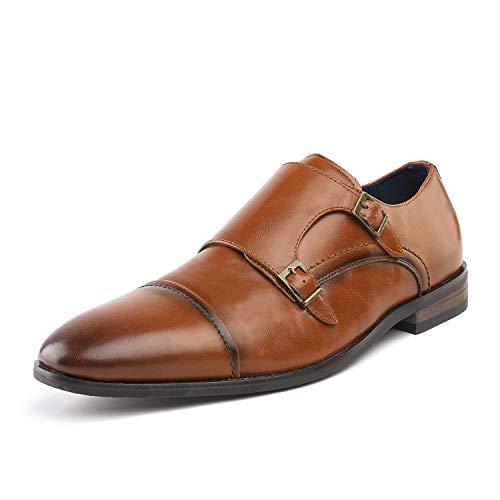 Bruno Marc Men's HUTCHINGSON_2 Camel Dress Shoes Size 13 M US