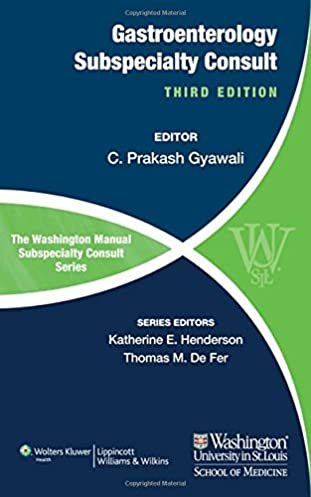 the washington manual of gastroenterology subspecialty consult the rh amazon com Prep Pediatric Board Review Pediatric Board Review Courses