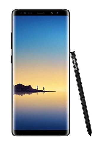Samsung Galaxy Note8 64GB Verizon - Midnight Black (Renewed) ()