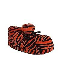 Snooki's Neon, Leopard and Zebra Slippers
