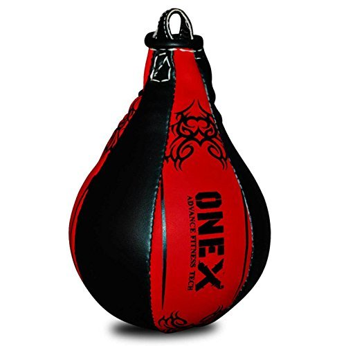 Double End MMA Boxing Speed Ball Pear Punching Bag Dodge Gym Training PU