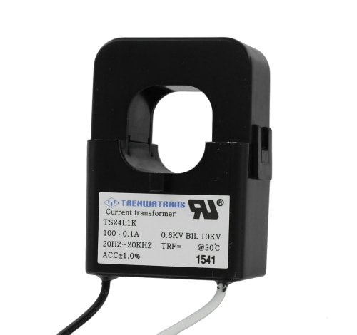 Leviton CTD01-K16 Sub-Metering Current Transformer, 100:0.1A, Split Core.94 by .94-Inch (Split Current Transformer Accuracy Core)