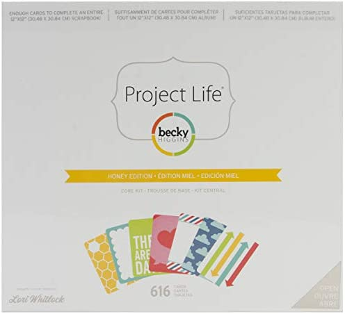 Project Life 380350 Kit Core Edition-Playful 616 Piece