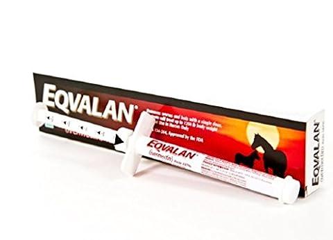Eqvalan Paste (1.87% Ivermectin) Equine Dewormer Single Oral Syringe