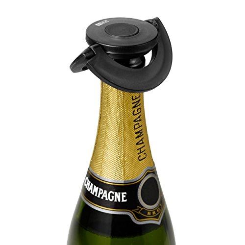 - AdHoc Prosecco / Champagne Stopper Gusto Black, Plastic / Silicone, FV31