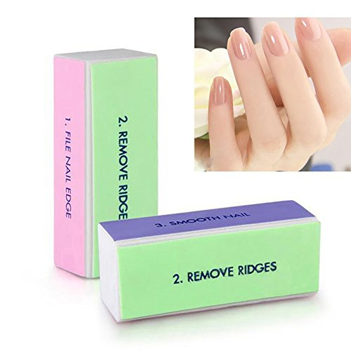 4 in 1 Nail Buffing Sanding Block Files, Yvonne Professional