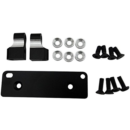 Hot Racing RRT2401 Black Aluminum Servo Mount RRT SMT