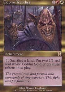 Magic: the Gathering - Goblin Trenches - Apocalypse