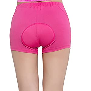 Harmony Life 3D Silicone Padded Bicycle Cycling Underwear Shorts, Breathable Lightwear Underpants for Man Women (XL)