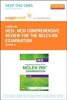 Hesi comprehensive review for the nclex rn examination 4e hesi comprehensive review for the nclex rn examination elsevier ebook on vitalsource retail fandeluxe