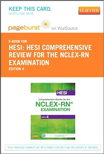 Hesi comprehensive review for the nclex rn examination elsevier hesi comprehensive review for the nclex rn examination elsevier ebook on vitalsource retail access card 4e 4th edition fandeluxe Gallery