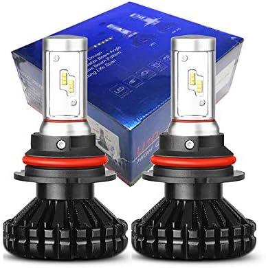 10Th Gen 60W 6000Lm 9004 9007 Dual Beam geführt Headlight Conversion Kit - 3000K 6500K 8000K Luxeon Zes geführt (9004/9007 Hilo)