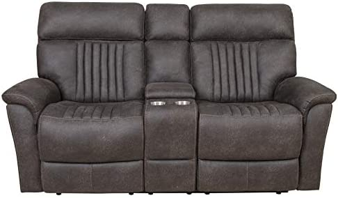 Right2Home Sebastian Power Loveseat Charcoal Love Seat