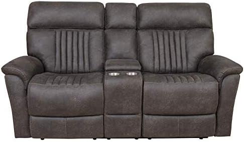 Right2Home Sebastian Power Loveseat Charcoal Love Seats