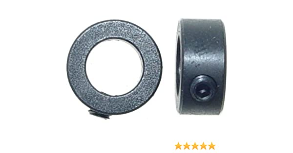 """1//4/"""" /& Outer Dia Yakamoz 5-Set Router Bit Bearings Replacement Kit Bottom Mounted Ball Bearing Guide Fits 1//4 Inch Shank Router Bits 1//2/"""" Fixed Collar Included Inner Dia"""
