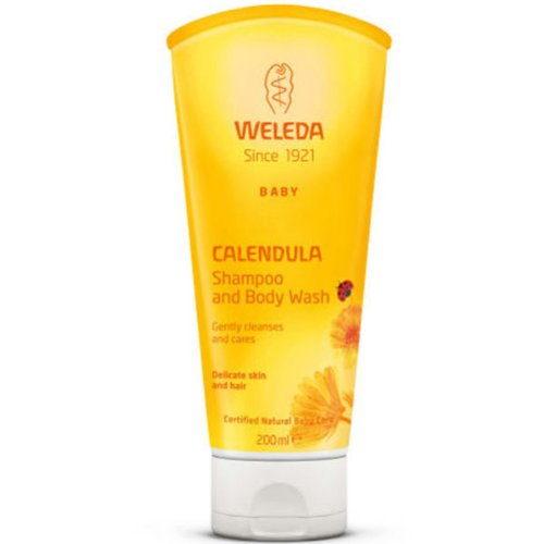 Weleda 2in1 Gentle Shampoo + Body Wash, -