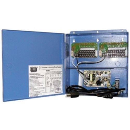 MG ELECTRONICS HPS1216UL 16 camera supply fully regulated 12VDC