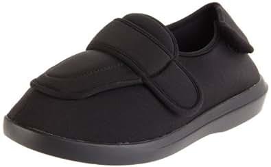 Propet Women's W0095SA Cronus Comfort Sneaker,Black,6 M US