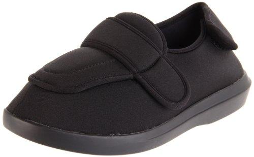 Propet Women's W0095  Cronus Comfort Sneaker,Black,8 W US