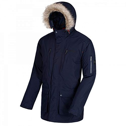 Salinger Veste Breathable Homme Hooded And Waterproof Insulated Regatta Noir a1dnBFqwax