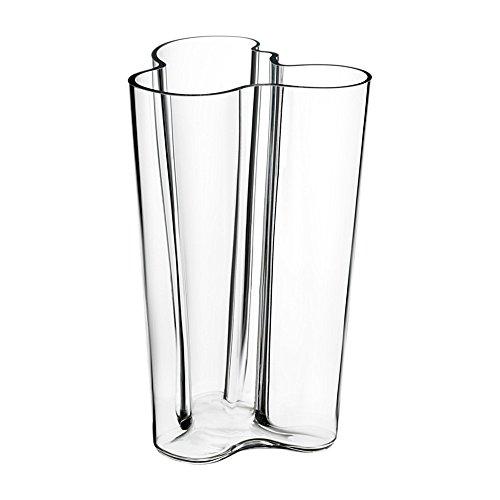 - Iittala Aalto 10-Inch Vase, Clear by Iittala