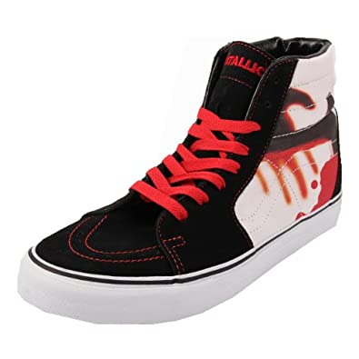 47Amazon Kill'em Black All Vans itScarpe Sk8 Metallica Borse E Hi 8n0OPkw