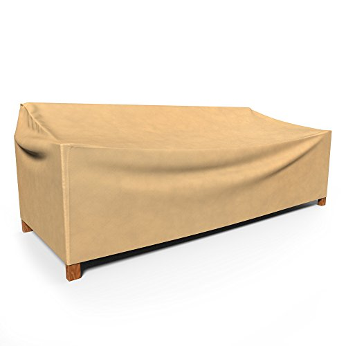 Budge All-Seasons Outdoor Patio Loveseat Cover, Large