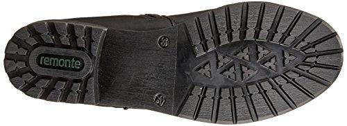 Dorndorf / Remonte Womens L.high Boots Nero Wide G Taglia 40 Eu